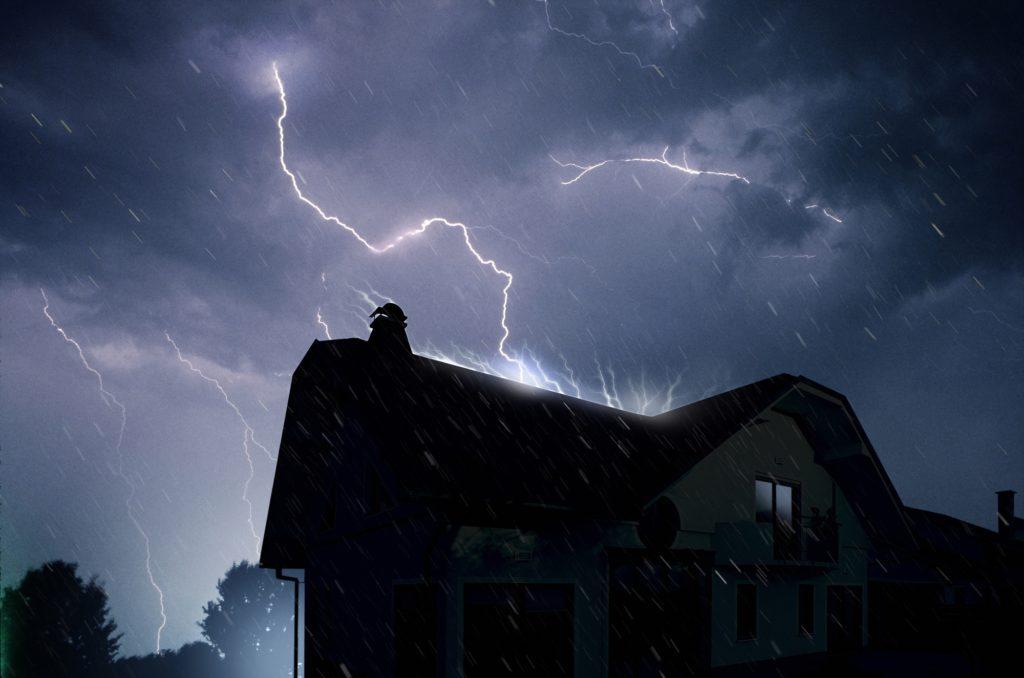 Lightning Strike House